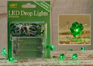 Submersible Shamrock LED Lights