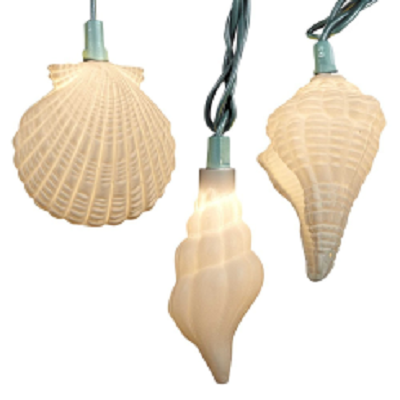 Kurt S. Adler Shell & Starfish String Lights