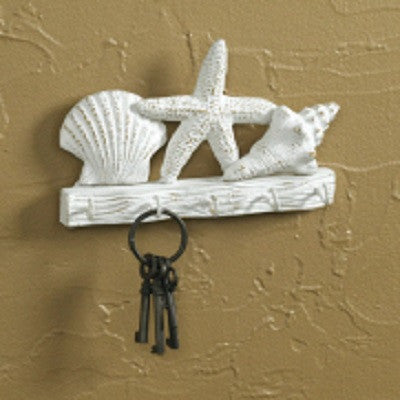 Starfish & Shells Key Rack