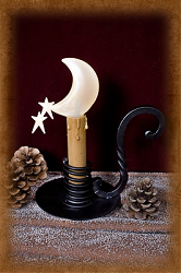 Moonshadow Candlestick Lamp
