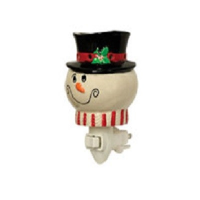 Snowman Head Plug In Warmer