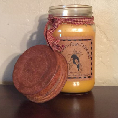 Pint Size Scented Canning Jar Candle