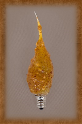 Small Flicker Bulb by Vickie Jeans Creations ~ Spicy Rosehips