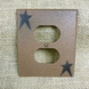 Primitive Star Outlet Cover