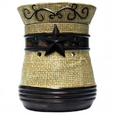 Electric Country Star Ceramic Bowl Warmer