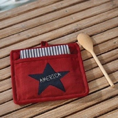 Star Spangled Pocket Potholder Set