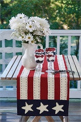 Star Spangled Table Runner