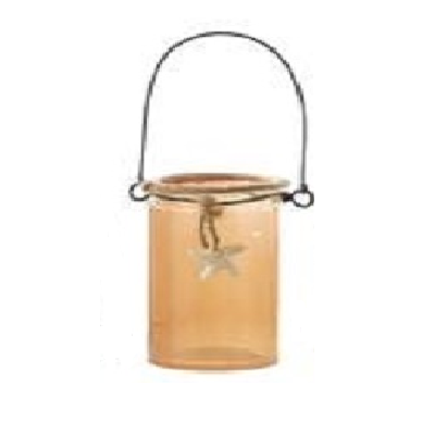 Kurt S. Adler Small Glass Mason Jar With Starfish Ornament