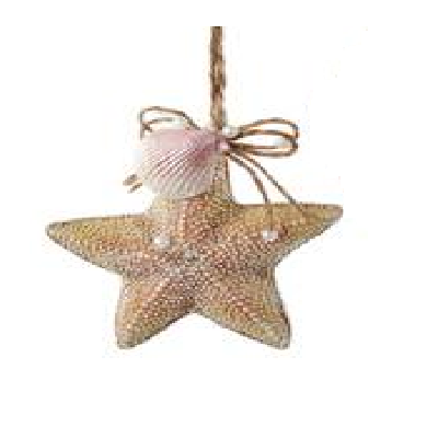 Kurt S. Adler Starfish & Shell Ornament