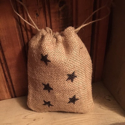 Burlap Star Scented Sack