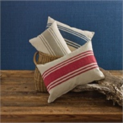 "12"" x 20"" Stripe Pillow Cover"