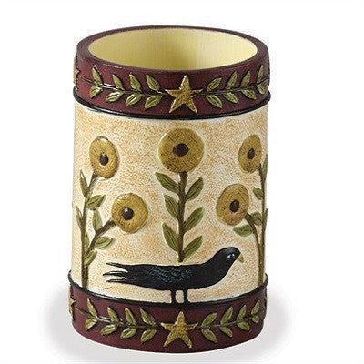 Sunflower & Crow Tumbler