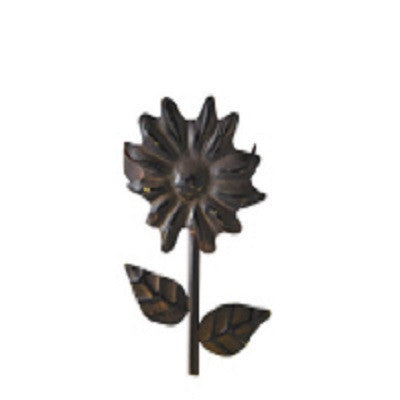 Metal Sunflower Napkin Ring