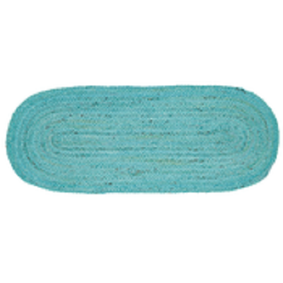 Teal Jute 36 Inch Table Runner