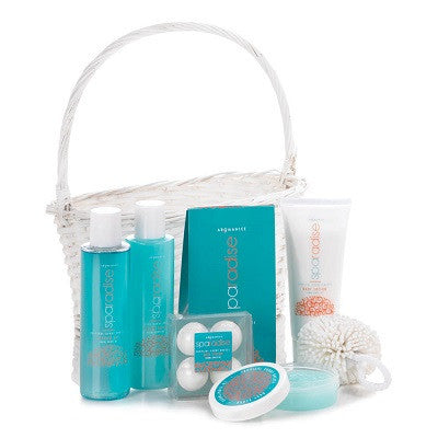Tropical Sunny Breeze Spa Basket