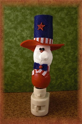 Uncle Sam Night Light