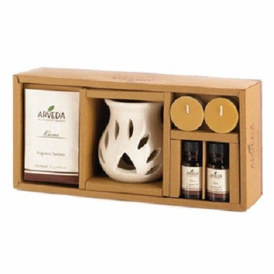 Walnut Vanilla Oil Warmer Set