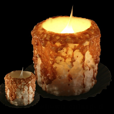 Warm Glow Carmel Corn Electric Candle
