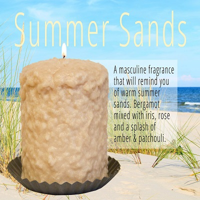Warm Glow Summer Sands Hearth Candle