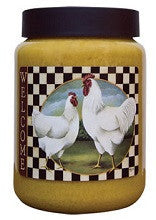 Welcome Rooster French Toast Scented 26 oz Jar Candle