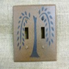 Primitive Willow Double Switch Cover
