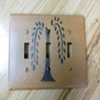 Primitive Triple Willow Switch Plate Cover
