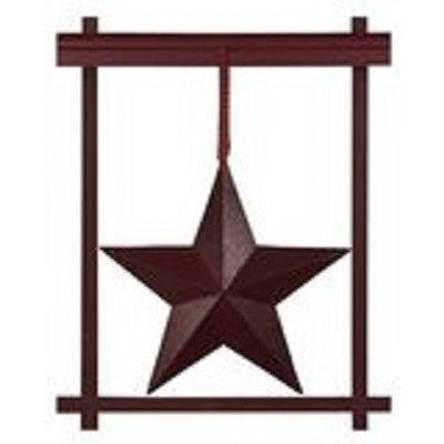 Burgundy Window Star