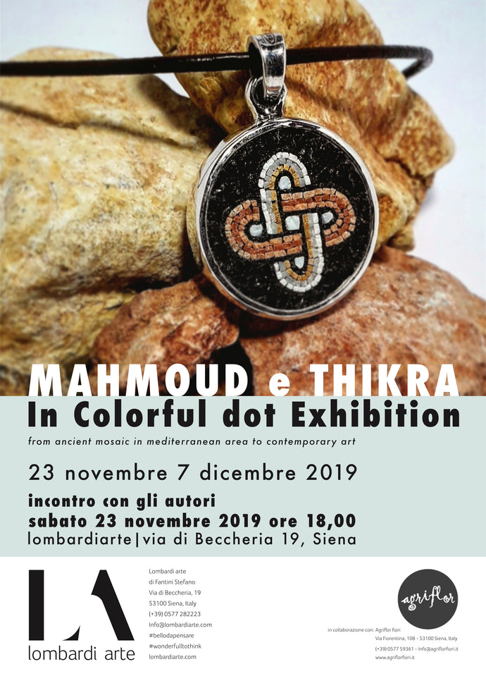 MAHMOUD e THIKRA | In colorful dot exhibition