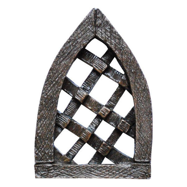 Fairy Door Window Crossed Bronze