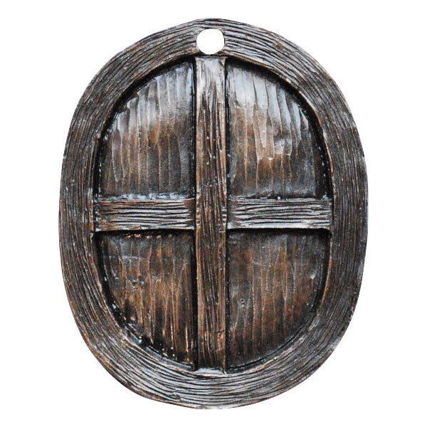 Fairy Door Window Oval Bronze