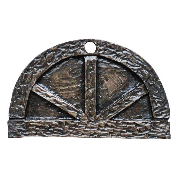 Fairy Door Window Arched Bronze