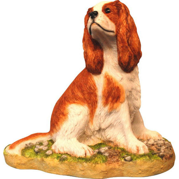 Cavalier King Charles Spaniel Blenheim sculpture
