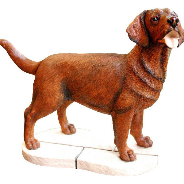Chocolate Labrador Retriever Gift Figurine Ornament