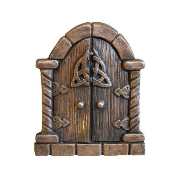 Grand Fairy Door In Bronze