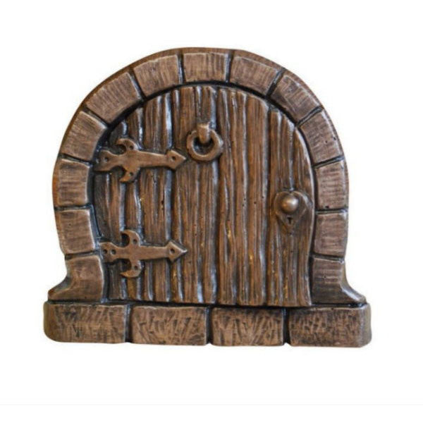 Hobbit Fairy Door In Bronze