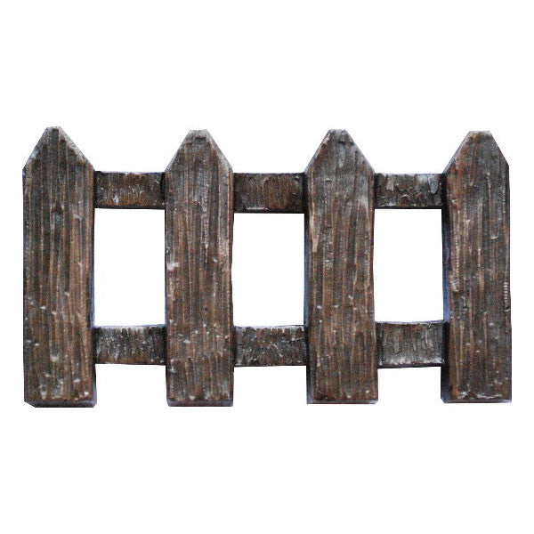 Fairy Door Fence Bronze