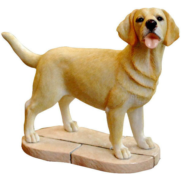 Yellow Labrador Retriever Gift Figurine Ornament