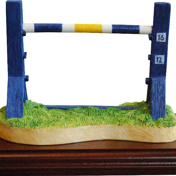 Single Jump LARGE Dog Agility Trophy - Peakdalesculptures