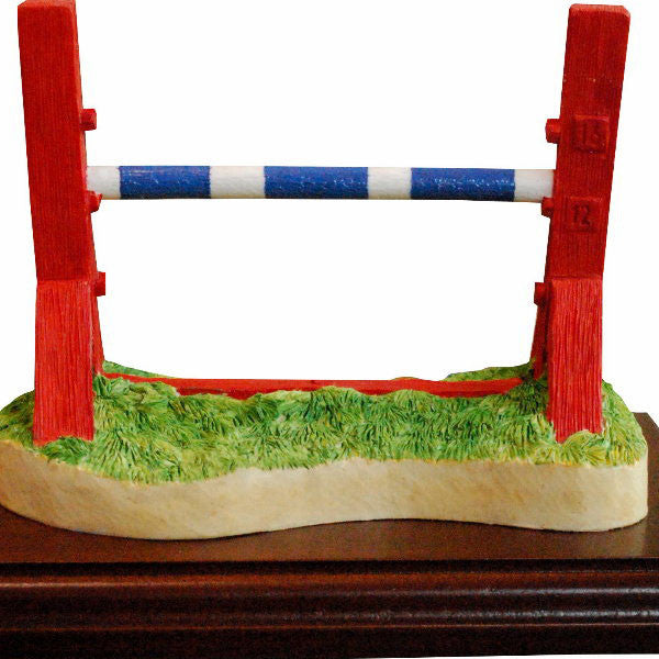 Single Jump MEDIUM Dog Agility Trophy - Peakdalesculptures