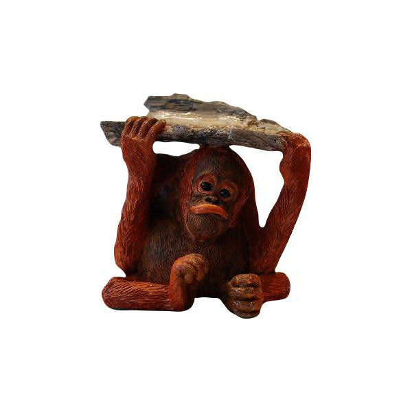 Orangutan baby Figurine Ornament by Peakdalesculptures