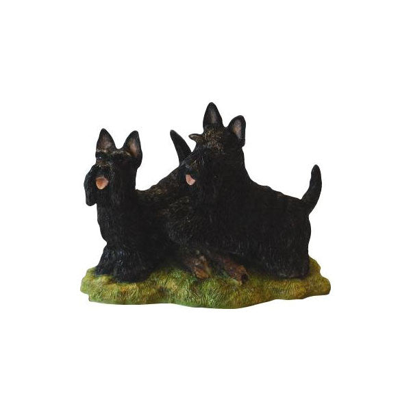 Scottish Terrier Pair Sculptures
