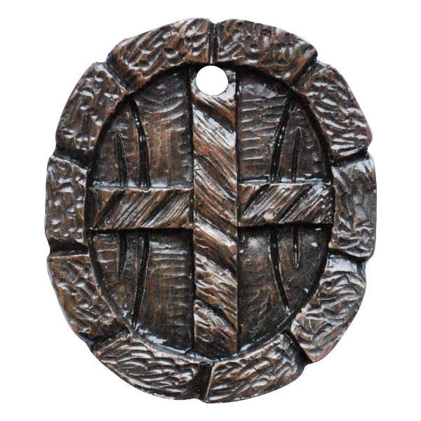 Fairy Door Window Round Bronze