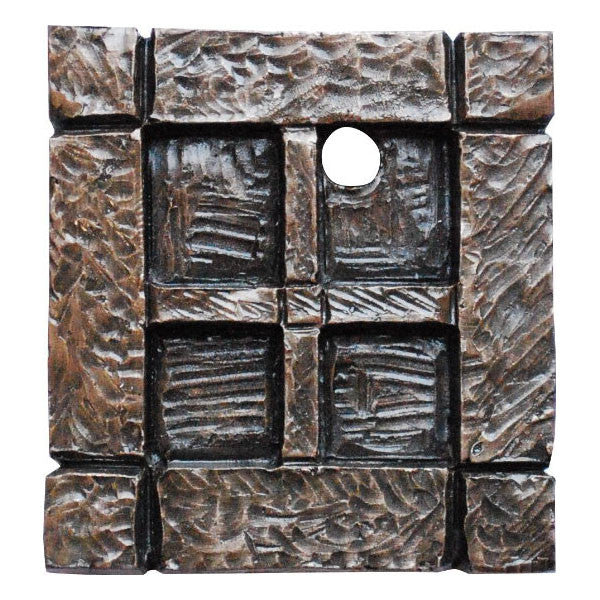 Fairy Door Window Square Bronze