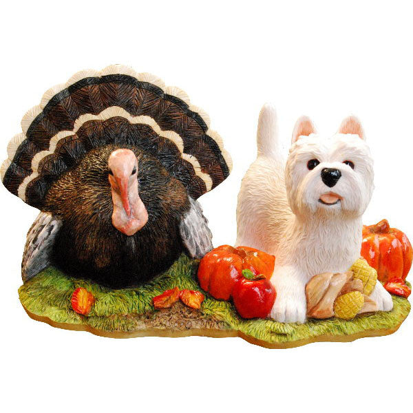 2016 Thanksgiving Westie Ornament Gift