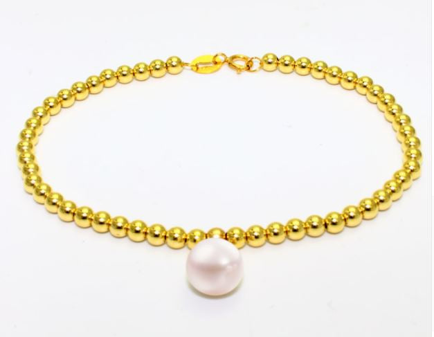 18K Yellow Gold bracelet - Eazideal Jewelry Galore
