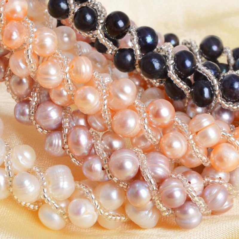 Natural Pearl Set - Eazideal Jewelry Galore