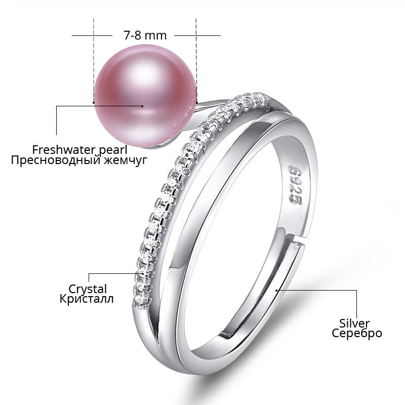 Freshwater Pearl Ring - Eazideal Jewelry Galore