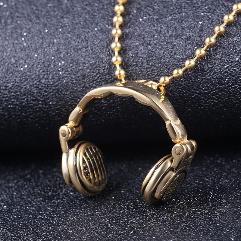 Headphones Necklace - Eazideal Jewelry Galore