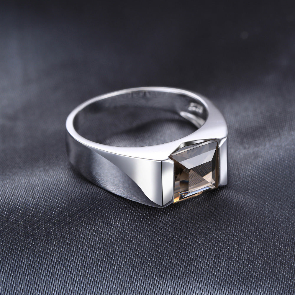 925 Sterling Silver Men's Ring - Eazideal Jewelry Galore