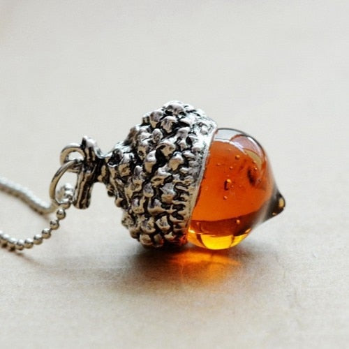 Glass Crystal Antique Pendant